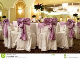 wedding tables and chairs wedding table and chairs in a banquet ballroom stock photo image