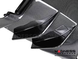 carbon fiber corvette chevrolet chevrolet corvette c7 rear diffuser by