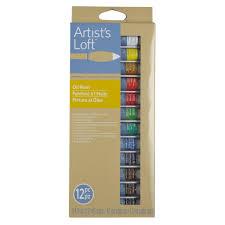 artist u0027s loft fundamentals oil paint set 12 count