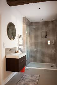 solid surface farmhouse sink oxfordshire solid surface shower bathroom farmhouse with brown tile