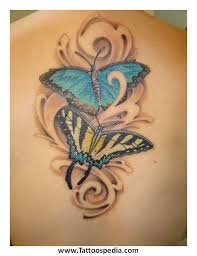 butterfly lower back meaning 4