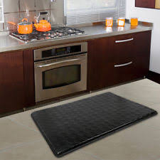 2x3 Kitchen Rug Black 2x3 Anti Fatigue Kitchen Cushion Floor Mat Comfort Foam