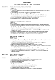 resume exles for media internships social media internship resume sles velvet jobs