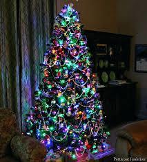 white tree with lights white christmas tree lights tree with colored lights white christmas
