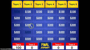 Jeopardy Template Powerpoint Business Template Jepordy Template