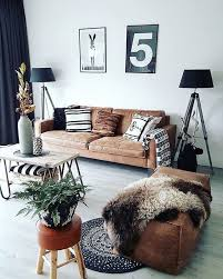 Home Interior Living Room by Best 20 Leather Couch Decorating Ideas On Pinterest Leather