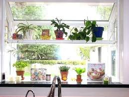 kitchen garden window decorating ideas garden window for