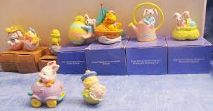easter 9 avon bunny ornaments and figurines c3 avon