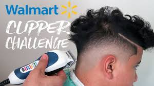 walmart clipper challenge mid drop fade tutorial youtube