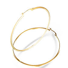 gold hoop earings mm diameter hoop earrings in 14k yellow gold