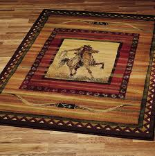 Western Style Area Rugs Country Style Area Rugs Visionexchange Co