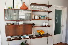decorating ideas for kitchen walls cabinet shelving wall shelves decorating ideas kitchen wall
