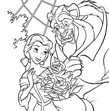 beauty beast coloring pages gaston gianfreda 64236