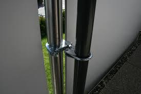 sonnenschirmhalter balkon sonnenschirmhalter set maßangefertigt für eckige balkongeländer