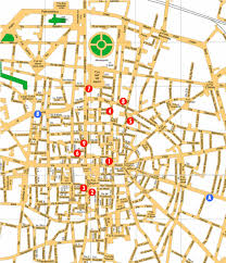 map of bologna bologna hotel map bologna mappery