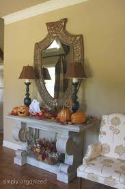 Halloween Decorations For The Home Halloween Decor Interior Home Tour Simply Organized
