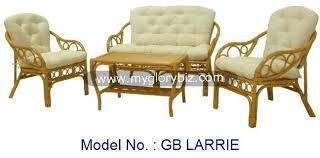 Unique Design Living Sofa Set Comfortable Rattan Furniture Series - Wicker sofa sets