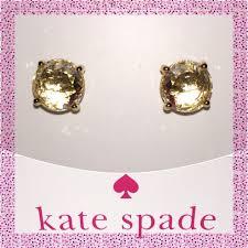 rhodium earrings sensitive ears take 30 kate spade black gumdrop earrings nwt birthday