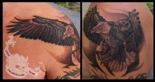 eagle on shoulder to chest by jakubnadrowski on deviantart