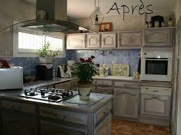 relooker cuisine rustique chene repeindre cuisine bois des photos relooker cuisine rustique avant