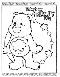 grumpy characters coloring pages coloring