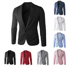 Mens Dress Clothes Online Buy Best And Latest Gender New Arrival Single Button Leisure