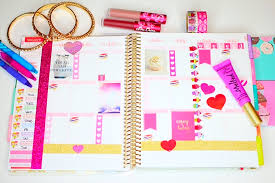 your own planner how i organize decorate my planner erin condren missbrawr