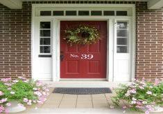 Front Doors For Homes Awesome Red Exterior Doors Red Front Doors For Home Home Design