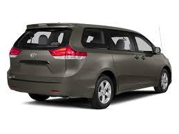 2014 toyota sienna price trims options specs photos reviews