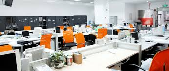 bureaux entreprise déménagement d entreprise transfert aménagement de bureau pentagonal