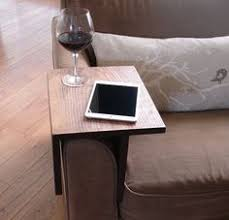 handmade arm rest tray table the perfect addition to a couch in