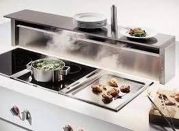 kitchen island ventilation gaggenau at400 ventilation table