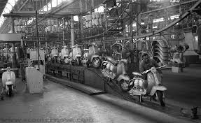 factory in italy the innocenti lambretta factory from specials to j range