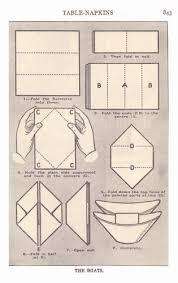 how to make table napkins napkin folding instructions food history fashion and fads napkin