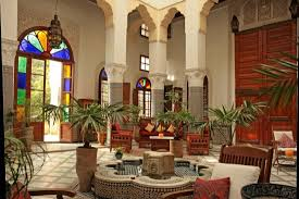 Moroccan Homes Exotic Moroccan Patios For Courtyards Ultimate Home Ideas