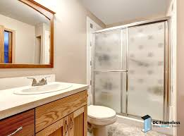 framed glass shower doors u2014 dc frameless glass shower doors 202