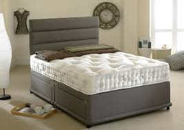 Divan Bed Set Happy Beds 1400 Silver Divan Bed Set Organic Pocket Sprung