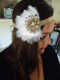 flapper headband diy diy 1920s flapper headband thechristyleigh
