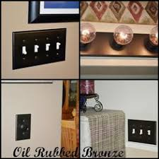 oil rubbed bronze light switch diy oil rubbed bronze switch plates why spend all the extra money
