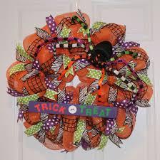 Sunflower Mesh Wreath Diy Halloween Mesh Wreath