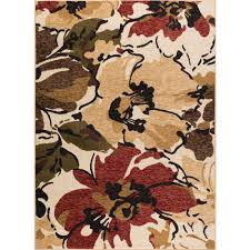 5 X7 Area Rug Tayse Rugs Laguna Beige 5 Ft X 7 Ft Contemporary Area Rug 4570