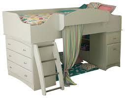 South Shore Bunk Bed South Shore Imagine Loft Bed In White South Shore Bunk
