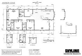 Skyline Mobile Homes Floor Plans Figure On Home Builders And San