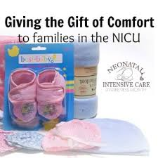 giving the gift of comfort to nicu families
