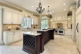 amarello ornamental granite with glass front cabinets kitchen