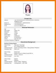 resume format 2017 philippines burger king crew member resume application job photo exles