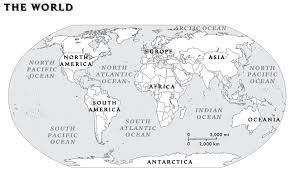 100 ideas physical map of the world worksheet on emergingartspdx com