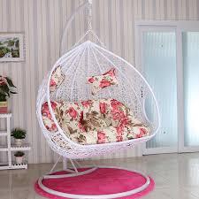 basket wicker living room hammock indoor household double rocking