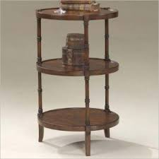 round cherry end table foter