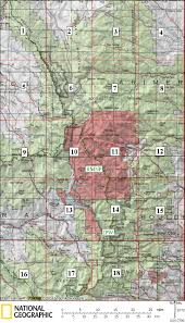Usgs Quad Maps Rocky Mountain National Park U0026 Indian Peak Wilderness Usgs Topo